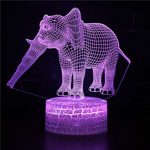 certainPL 3D USB LED Lamp Modern Art Home Decoration Acrylic Lighting desk Lampe Night Light Gift