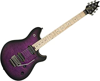 EVH Wolfgang Standard Quilt Maple Top - Transparent Purple Burst