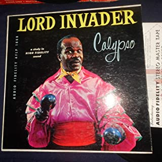 Lord Invader , Calypso Sello: Audio Fidelity – AFLP 1808 Formato: Vinyl, LP, Album País: US Fecha: 1956