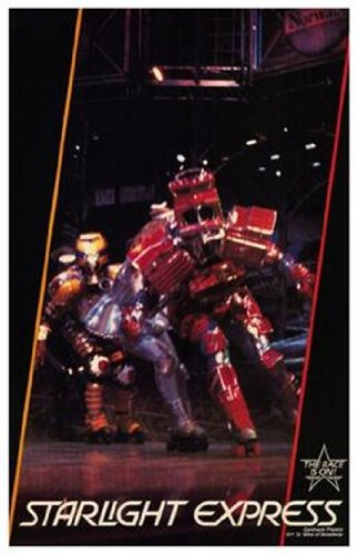 Starlight Express (Broadway Musical) Movie Poster (27,94 x 43,18 cm)
