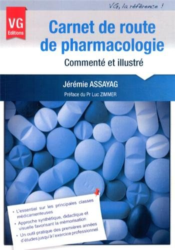 Carnet de route de pharmacologie commenté et illustré
