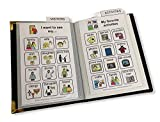 Say it with Symbols Small Adult Picture Communication Book Helps Adults with Speech Difficulties from Stroke, Aphasia, Brain Injury, Autism, Cerebral Palsy, MS