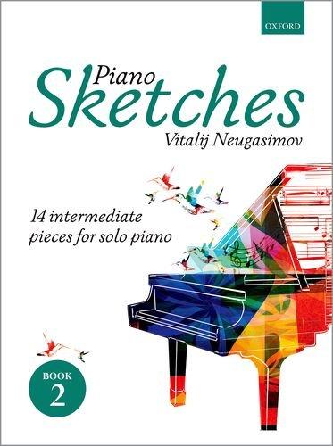 Neugasimov, V: Piano Sketches Book 2: 14 intermediate pieces for solo piano