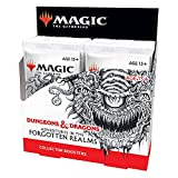 Magic: The Gathering Adventures in the Forgotten Realms Collector Booster Box | 12 Packs (180 Magic Cards)