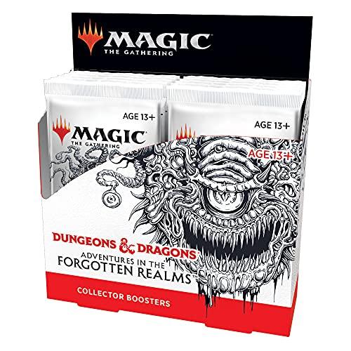Booster de colecionador de Magic: The Gathering Adventures in Forgotten Realms | 12 boosters (180 cards de Magic) - Em Inglês