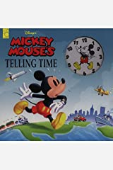 Disney's Mickey Mouse's Telling Time Hardcover