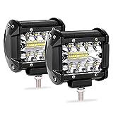 Ocamo Lot de 2 Ampoules LED de 10,2 cm 200 W pour Lampe de Conduite 12 V