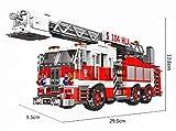 Xingbao Feuerwehrauto mit Drehleiter - Klemmbausteine - ArtikelNr. XB-03031, Teileanzahl: 711