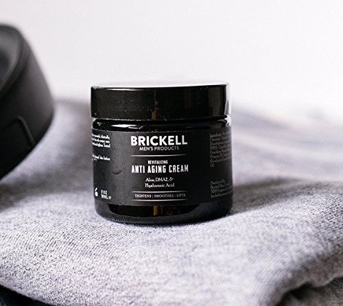 Anti aging products Brickell Men's Revitalizing Anti-Aging Cream For Men, Natural