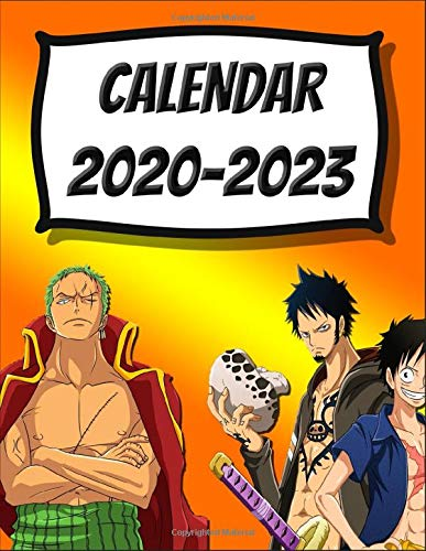 Limited Edition: One Piece Anime Manga Series Fan's Calendar 2020-2023