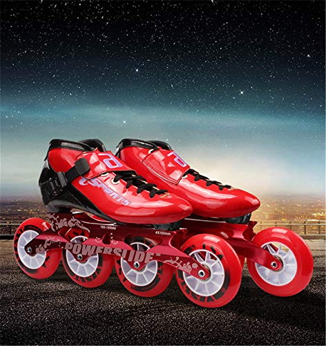 Fantastic Deal! TTYY Inline Speed Skates Shoes for Beginner Practice Daily Sports, Men/Women Roller ...