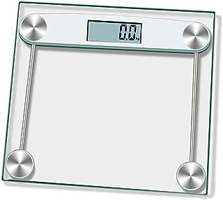 L-YINGZON Escalas Báscula Inteligente Baño Báscula, Básculas de Piso electrónicos, Suelo de Las Escalas de medición de Grasa Corporal, Digital Body Balance Conectar MAX 180kg