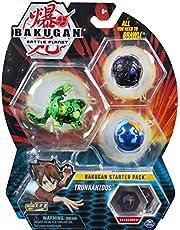 Bakugan - Starter-pack, 2 klassiekers en 1 ultra