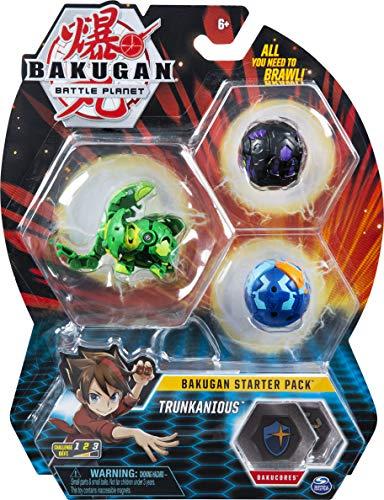 Bakugan - 6058570 - Jouet Enfant à Collectionner - Starter Pack Modèle Trunkanious