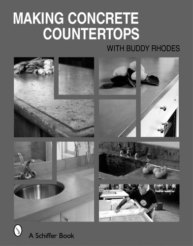 Making Concrete Countertops (Schiffer Book)