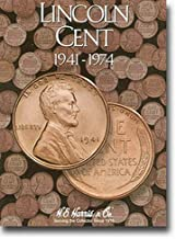 Lincoln Cents Folder 1941-1974 (H. E. Harris & Co.)