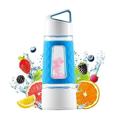 Infuseur à Fruits Bouteille d'eau par Fruition–Instant Infusion Panier pour Fruits et Thé–Durable, Anti-Fuite, capacité de 567Gram, sans BPA