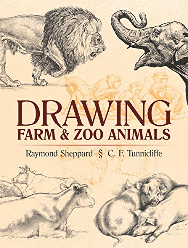 Drawing Farm and Zoo Animals (Dover Art Instruction) (English Edition)
