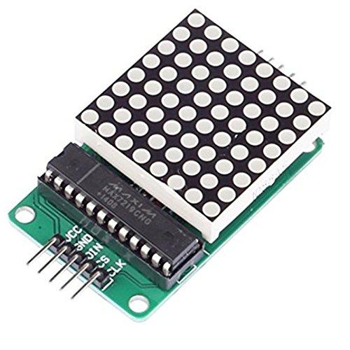 Amazon.de - MAX7219 LED 8x8 Dot Matrix Display Module