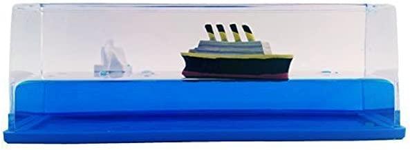 Titanic Liquid Wave Paperweight Desk Toy