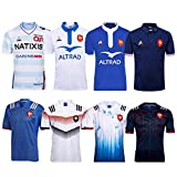 JUNBABY France Maillot De Rugby 2017, T-Shirt Football Rugby 2018, Polo AthléTique Rugby 2019-2018-2019Blue-XL