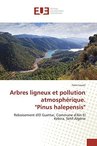 Arbres ligneux et pollution atmosphérique.