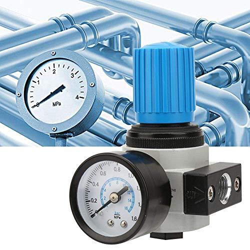 "LHQ-HQ. Siebfilterventil, LR-1/4-MINI 16bar 16KG Luftkompressor Manometer Relief Regulierventil G1 / 4"" Fluidsteuergerät for pneumatische"