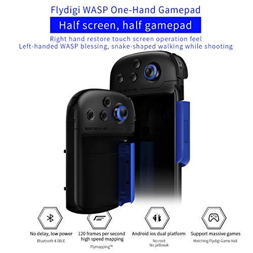 Izquierda y Derecha Flydigi Phone Game Trigger Compatible con el Controlador Wasp para la Competencia m/óvil CapAir Mapping Game Trigger Gamepad Shooter Joystick para Android y iOS