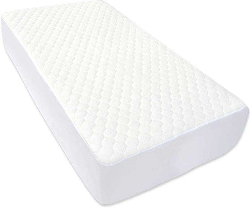BlueSnail Super Soft Stretchy Fitted Crib Bed Sheet For Standard Crib And Toddler Mattress Cream