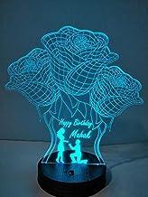 DESIGN ELLE Personalized 3D Lamp (3 Roses)