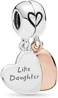 Mother and Daughter Love PANDORA Rose Charm - 787783EN16