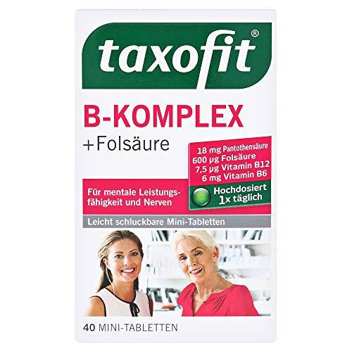 Taxofit B-Komplex + Folsäure Tabl.