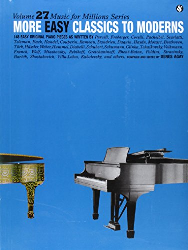 More Easy Classics to Moderns: Music for Millions Series (Music for Milions)