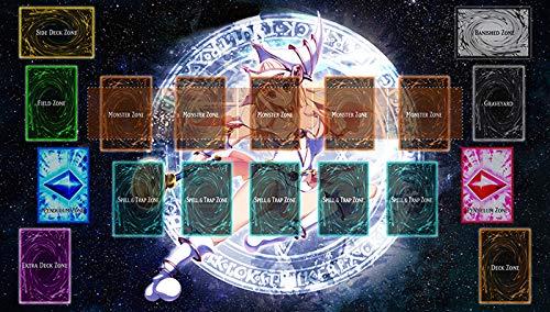 Yu-gi-oh Dark Magician Girl Master Rule Link Plus Monster Zone Playmat Play mat - TCG Playmat