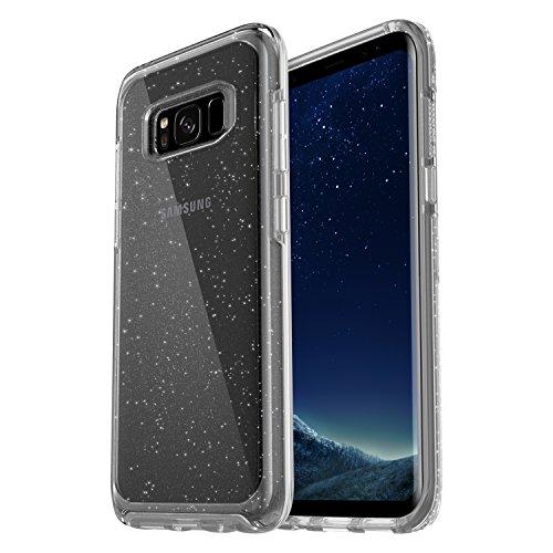 OtterBox Symmetry Clear - Funda de protección para Samsung Galaxy S8+, diseño Stardust transparente
