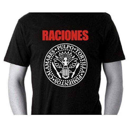 NIKIS GALICIA - Camiseta Unisex M/Corta Hombre Color: Negro Talla: Medium
