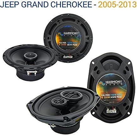 Fits Jeep Grand Cherokee 05-13 OEM Speaker Replacement Harmony R69 R65 Package