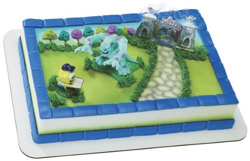 Monsters University Mike & Sully Cake Decorating Kit