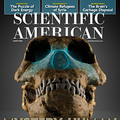 Scientific American, March 2016 cover art