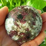 HONGHUA Naturstein Pflaumenblüte Turmalin Palmsteine Spielzeug Kleine Steine Und Kristalle Heilkristalle, A73109G