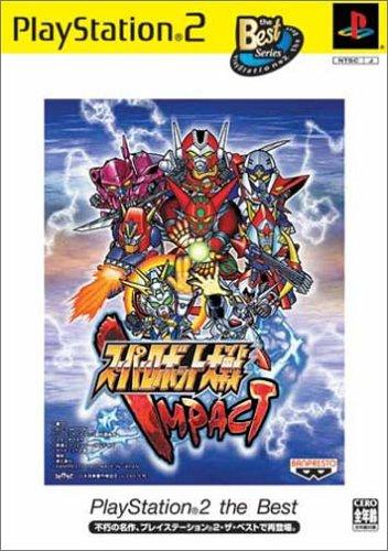 super robot taisen impact jap (best series)