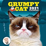Grumpy Cat 2021 Wall Calendar: (Cranky Kitty Monthly Calendar, Funny Internet Meme 12-Month Calendar)
