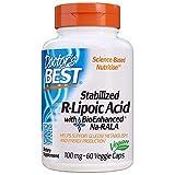 Doctor's Best Stabilized R-Lipoic Acid 100 mg 60 Veggie Caps