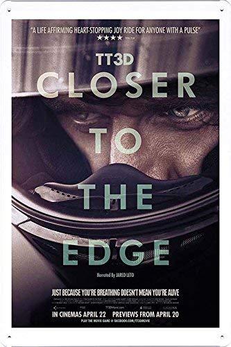 HNFT Petpetpet - Cartel de película de 20 x 30 cm, Tt3D Closer to The Edge producido