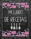 Mi Libro de Recetas: Libro de cocina en blanco personalizado para anotar hasta 120 recetas - cuaderno de recetas de cocina para escribir