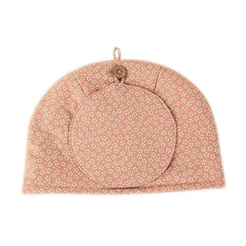 かわいい ティーコジー ティーポットカバー 桜 ピンク匠の技 河島幸子・彰子共作 和柄 日本製 綿100%