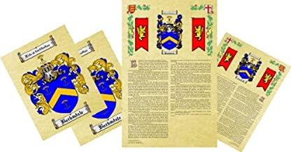 Best Marsh Coat of Arms, Family Crest & History Combo Review