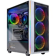 ✔ AMD Ryzen 7 2700X 8-Core 3.7 GHz (4.3 GHz Turbo) CPU Processor | 1TB SSD – Up to 30x faster than traditional HDD | B450 Motherboard ✔ GeForce RTX 2070 SUPER 8GB GDDR6 Graphics Card | 16GB DDR4 (2 x 8GB) 3000MHz Gaming Memory | Windows 10 Home 64-bi...