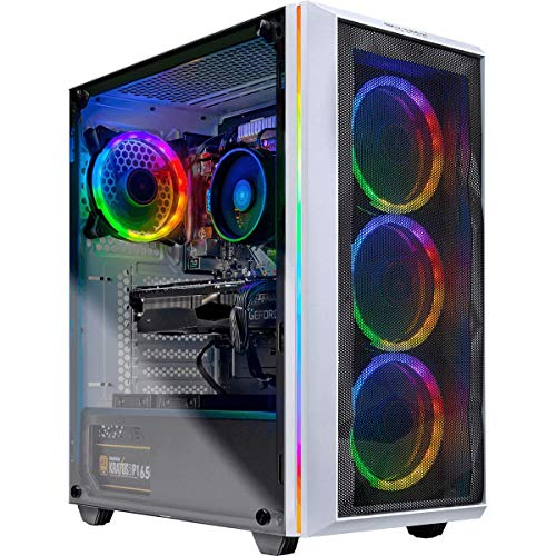 Skytech Chronos Gaming PC Desktop - AMD Ryzen 7 2700X, NVIDIA RTX 2070 Super 8GB, 16GB DDR4 (2X 8GB), 1TB SSD, B450M Motherboard, 650 Watt Gold (2700X | 2070 Super)