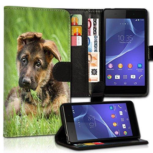 Wallet Book Style Flip Handy Tasche Case Schutz Hülle Schale Motiv Etui für Microsoft Lumia 550 - Variante UMV33 Design8